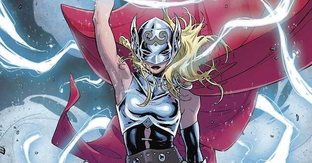 Presidente da Marvel não descarta a possibilidade de uma versão feminina de Thor