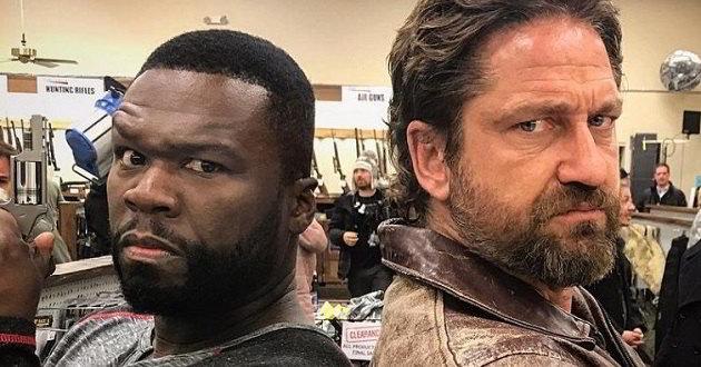 Gerard Butler e 50 Cent no primeiro trailer de