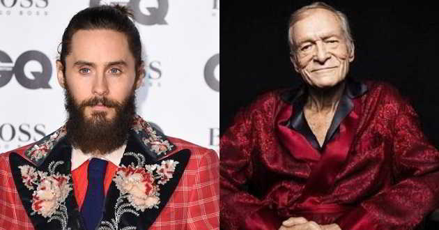 Jared Leto interpretará Hugh Hefner, o fundador da Playboy