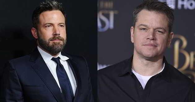Ben Affleck e Matt Damon juntos na produção de