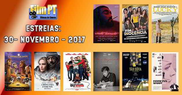 Estreias da Semana: 30 de novembro de 2017