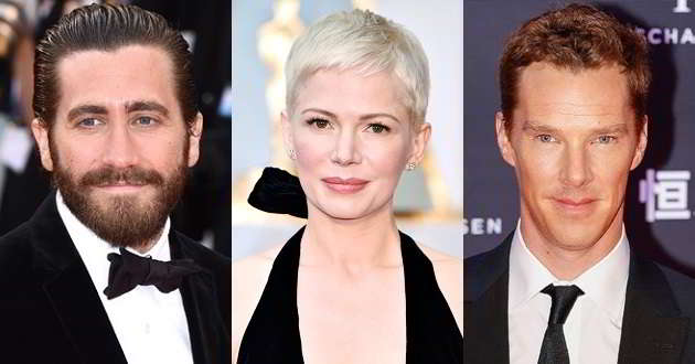 Michelle Williams poderá juntar-se a Jake Gyllenhaal e Benedict Cumberbatch no thriller