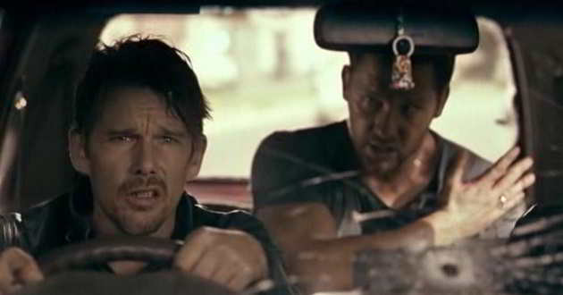 Ethan Hawke no trailer português do thriller de ação