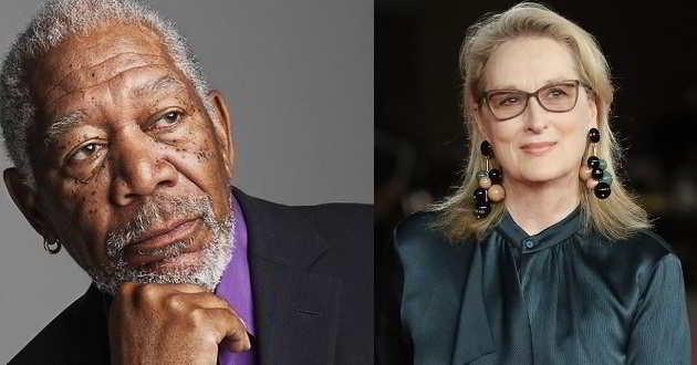 Morgan Freeman disposto a tudo para contracenar com Meryl Streep