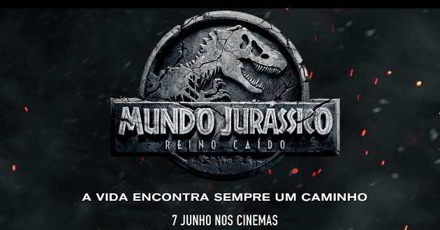 O regresso dos dinossauros. Primeiro teaser português de