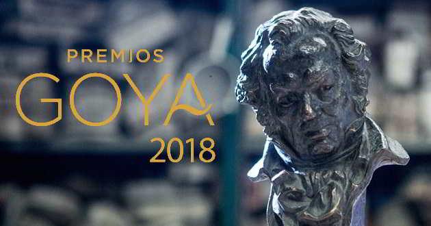 Revelada a lista de nomeações para a 32ª edição dos Prémios Goya