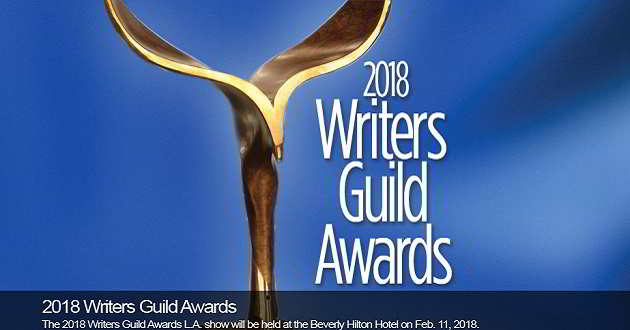 Revelados os filmes nomeados para os Writers Guild Awards 2018