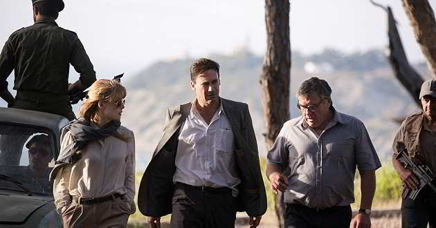 Jon Hamm e Rosamund Pike no primeiro trailer oficial do thriller