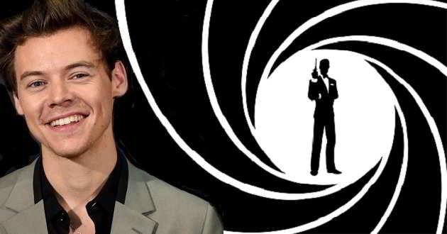 Editor diz que Harry Styles tem perfil para ser o próximo James Bond