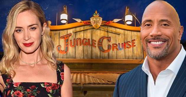 Emily Blunt juntou-se a Dwayne Johnson no protagonismo de