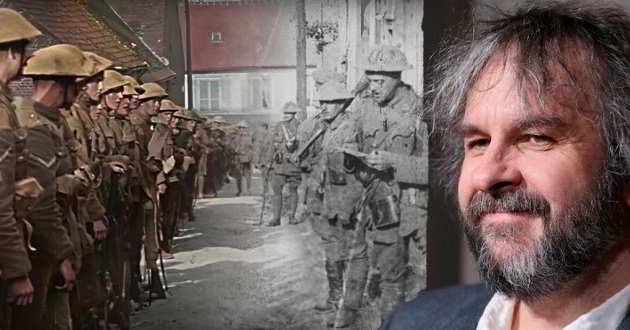 Documentário sobre a Primeira Guerra Mundial será o próximo projeto de Peter Jackson