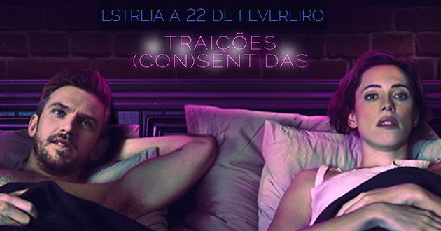 Rebecca Hall e Dan Stevens no trailer português de