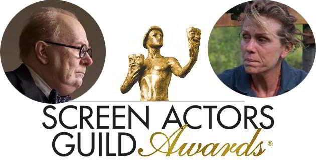 SAG Awards 2018: Frances McDormand e Gary Oldman na rota dos Óscares