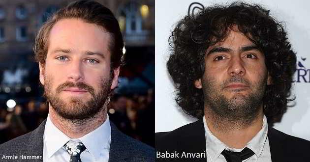 Armie Hammer protagonizará o novo filme do iraniano Babak Anvari