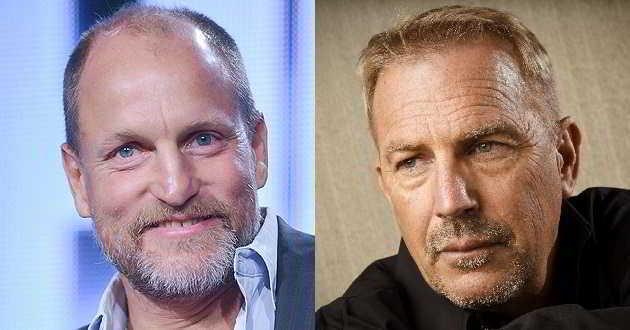Woody Harrelson e Kevin Costner serão os protagonista de