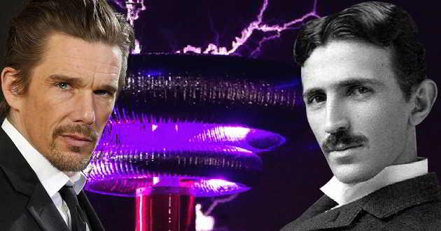 Ethan Hawke dará vida ao cientista e inventor Nikola Tesla numa cinebiografia