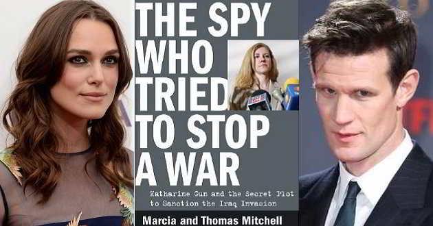Keira Knightley e Matt Smith vão encabeçar o elenco de