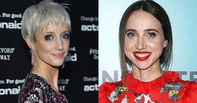 Andrea Riseborough e Zoe Kazan no elenco de