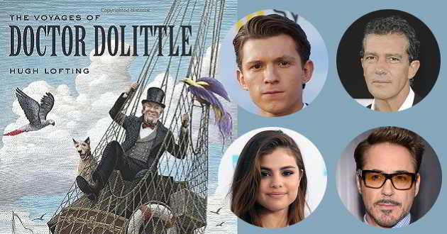 Tom Holland, Antonio Banderas e Selena Gomez no elenco do novo filme de