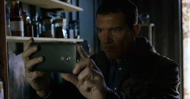 Antonio Banderas no trailer português de filme de ação