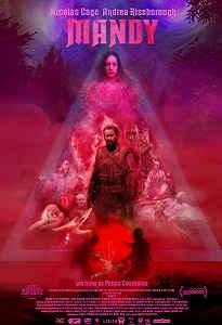 Poster do filme de terror Mandyu