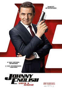 Poster da comédi Johnny English Volta a Atacar