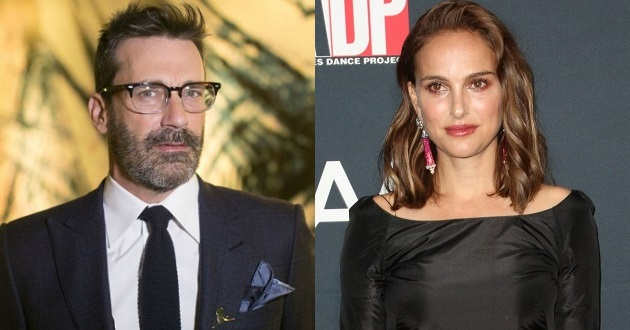 Jon Hamm poderá juntar-se a Natalie Portman no elenco de