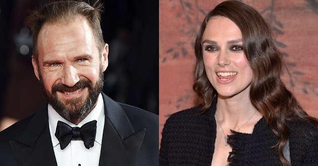 Ralph Fiennes juntou-se a Keira Knightley no elenco de