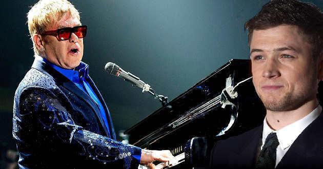 Elton John deu algumas dicas a Taron Egerton para a cinebiografia
