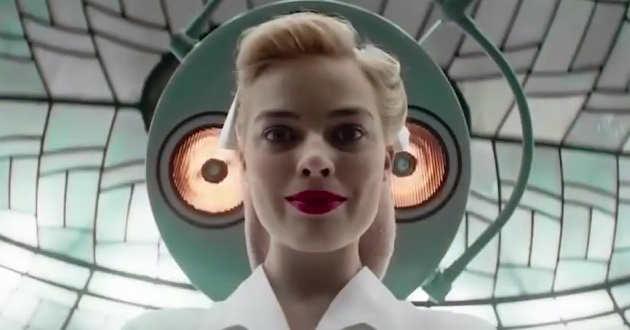 Margot Robbie é uma femme fatale no primeiro trailer de