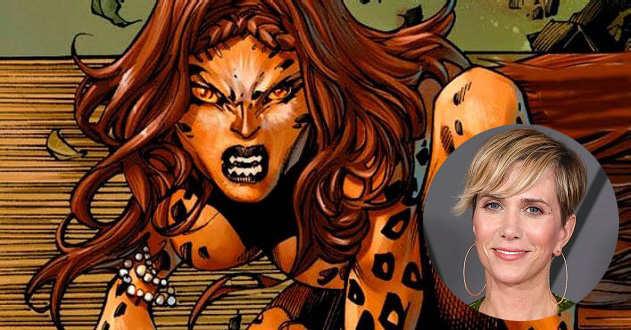 Kristen Wiig em negociações para interpretar Cheetah em