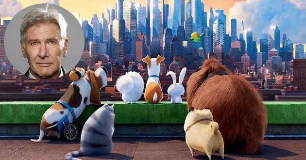Harrison Ford estará pela primeira vez no elenco de vozes de uma animação