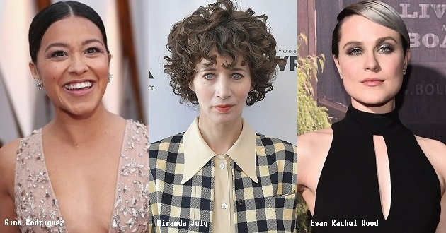 Evan Rachel Wood e Gina Rodriguez no elenco do novo filme de Miranda July