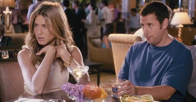 Adam Sandler e Jennifer Aniston serão os protagonistas de