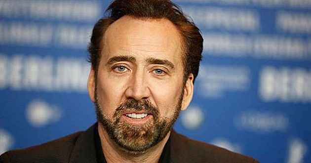 Planos futuros do ator Nicolas Cage estão centrados na realização