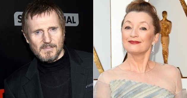 Liam Neeson e Lesley Manville serão os protagonistas de