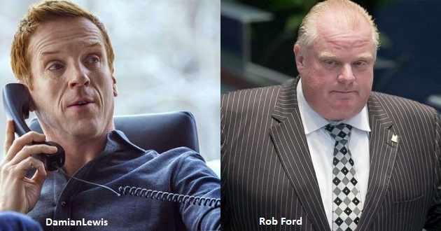 Damian Lewis será o ex-alcaide Rob Ford no thriller