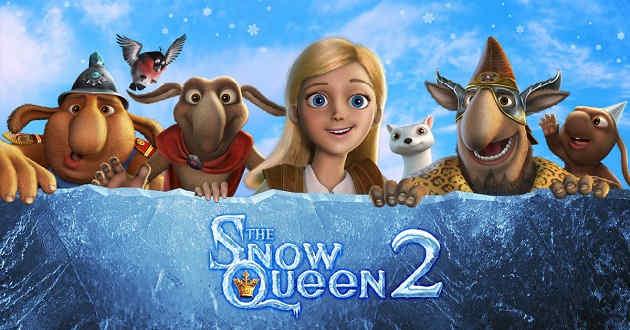 Rainha da Neve de regresso. Trailer português da animação