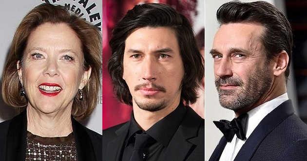Annette Bening, Adam Driver e Jon Hamm em negociações para