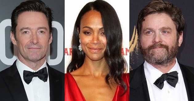 Hugh Jackman, Zoe Saldana e Zach Galifianakis numa nova animação do estúdio Laika