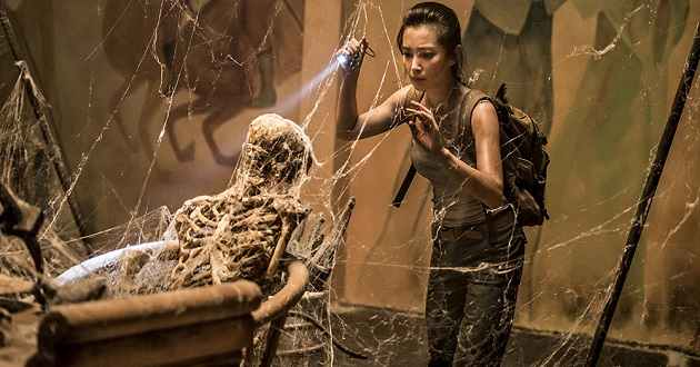 Li Bingbing e Kellan Lutz no trailer português de