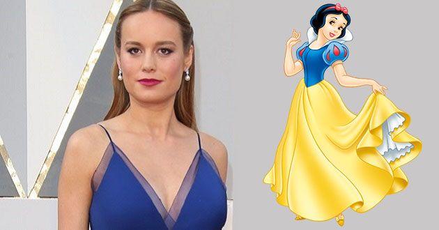 Brie Larson é pretendida para interpretar Branca de Neve no live-action