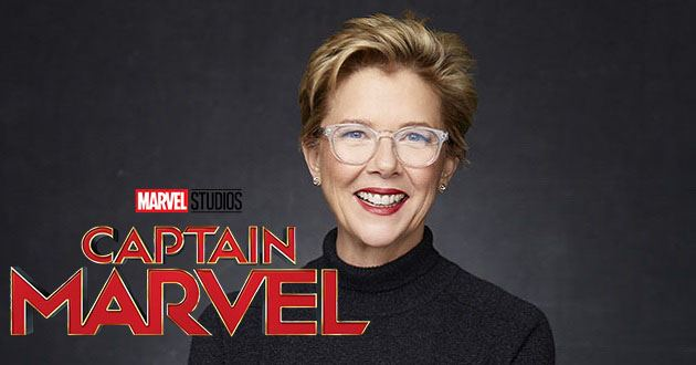 Annette Bening no elenco de Captain Marvel