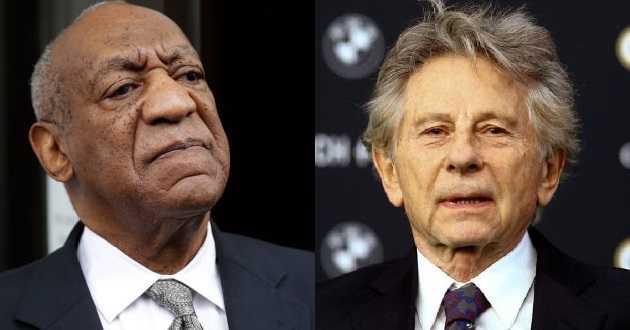 Academia de Hollywood expulsou o ator Bill Cosby e o realizador Roman Polanski