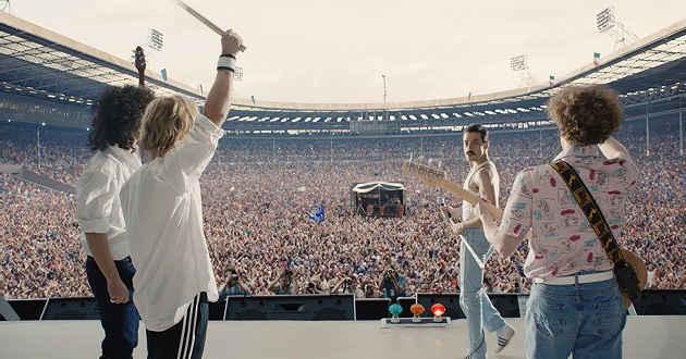 Rami Malek no trailer de Bohemian Rhapsody