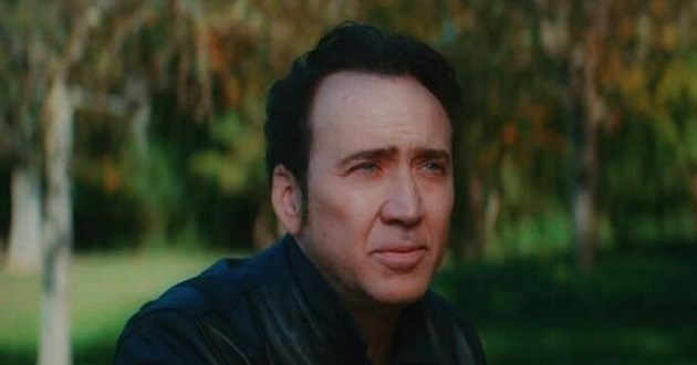 Nicolas Cage em Prisoners of the Ghostland