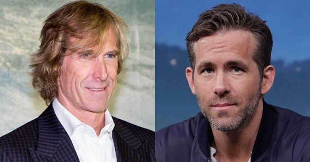 Michael Bay e Ryan Reynolds juntos no thriller de ação