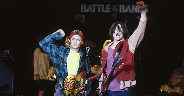 Keanu Reeves e Alex Winter regressam para Bill & Ted 3