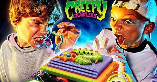Creepy Crawlers no grande ecrã.