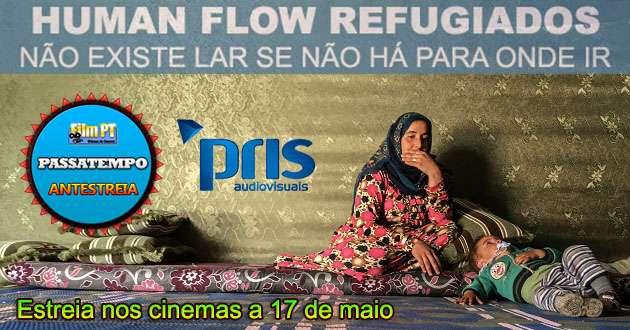 "Passatempo ""Human Flow Refugiados"""